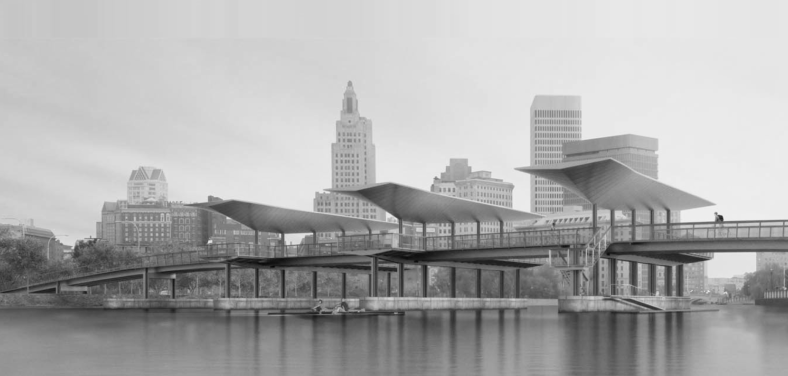Design of Providence Pedestrian Bridge